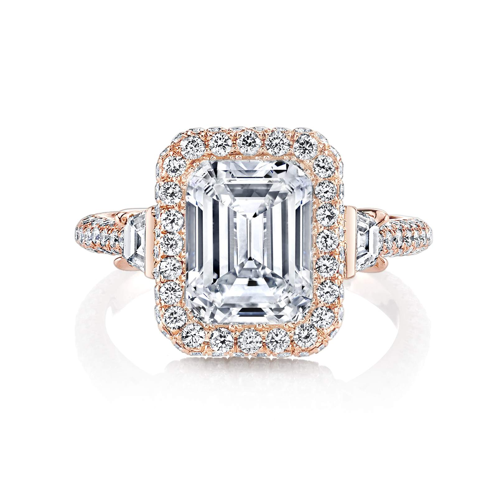 creative ring intl emerald engagement customised diamond brisbane for diamonds rings cut you