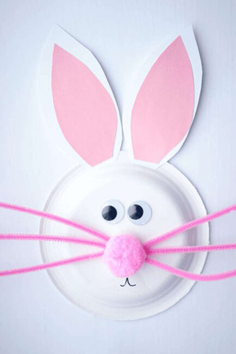 10 Adorable and Easy Easter Bunny Crafts
