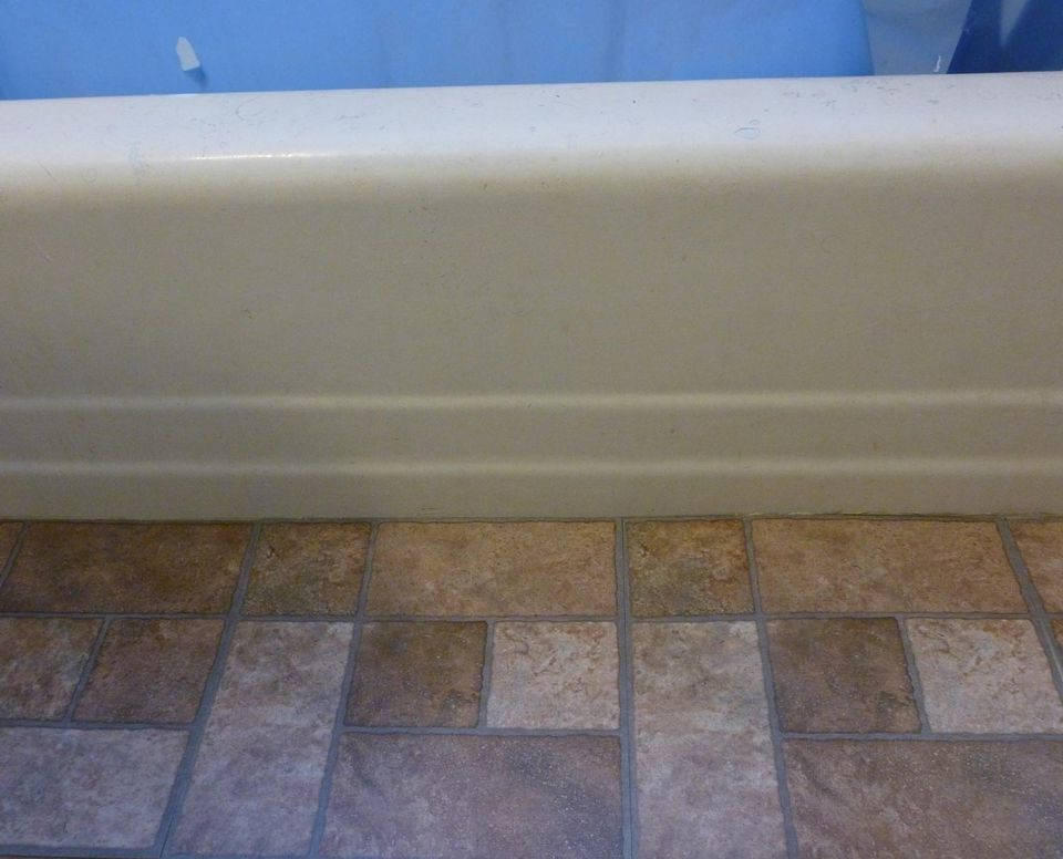 Transforming a bathroom with self adhesive floor tiles for Vinyl floor tiles in bathroom