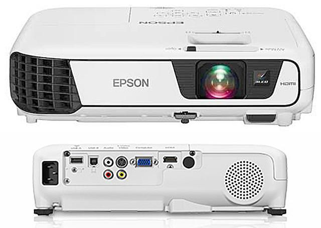 Epson Home Cinema 640 3LCD Video Projector
