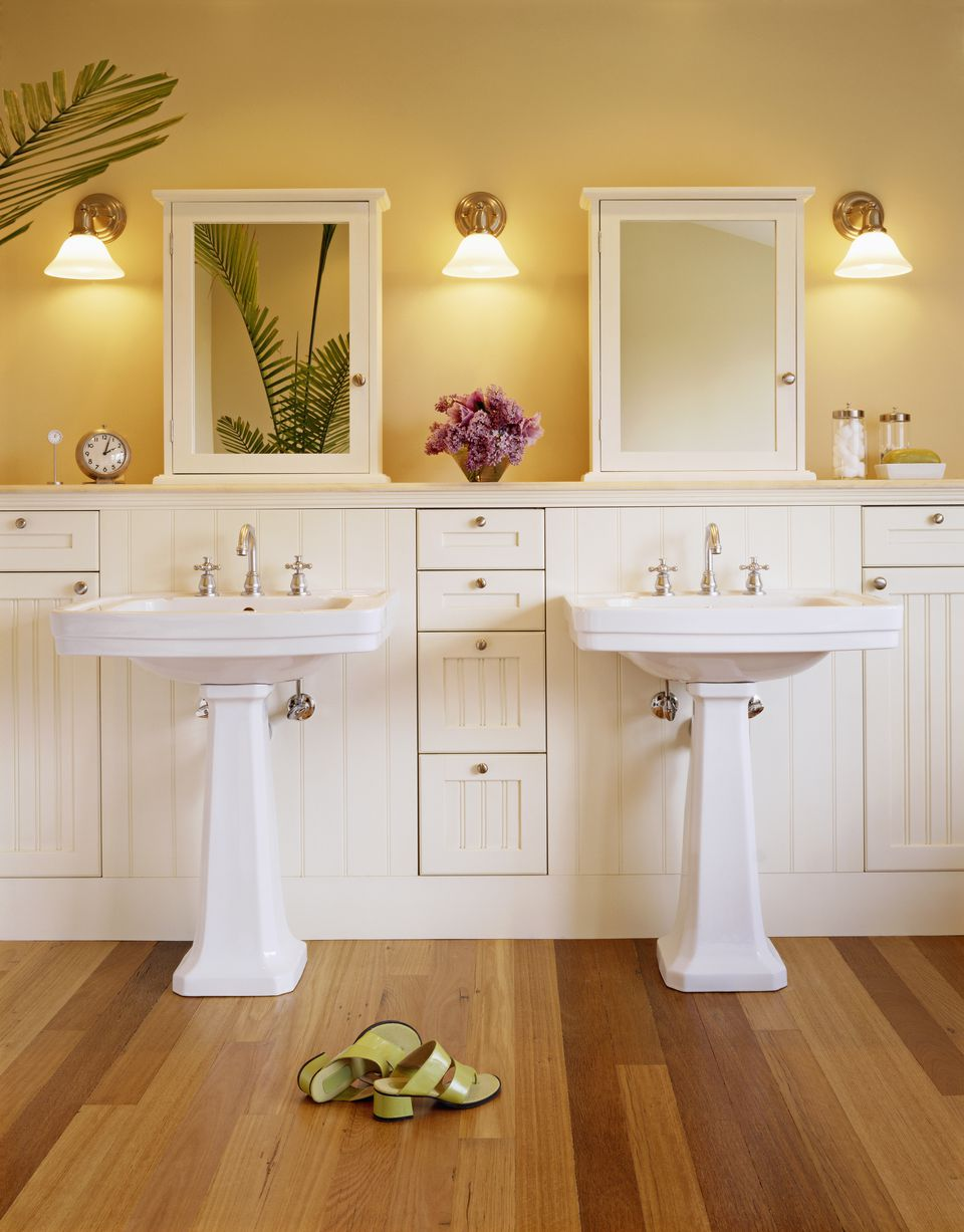 Classic Look For a Small BathroomSmall Bathroom Ideas To Ignite Your Remodel. Wainscoting Small Bathroom. Home Design Ideas