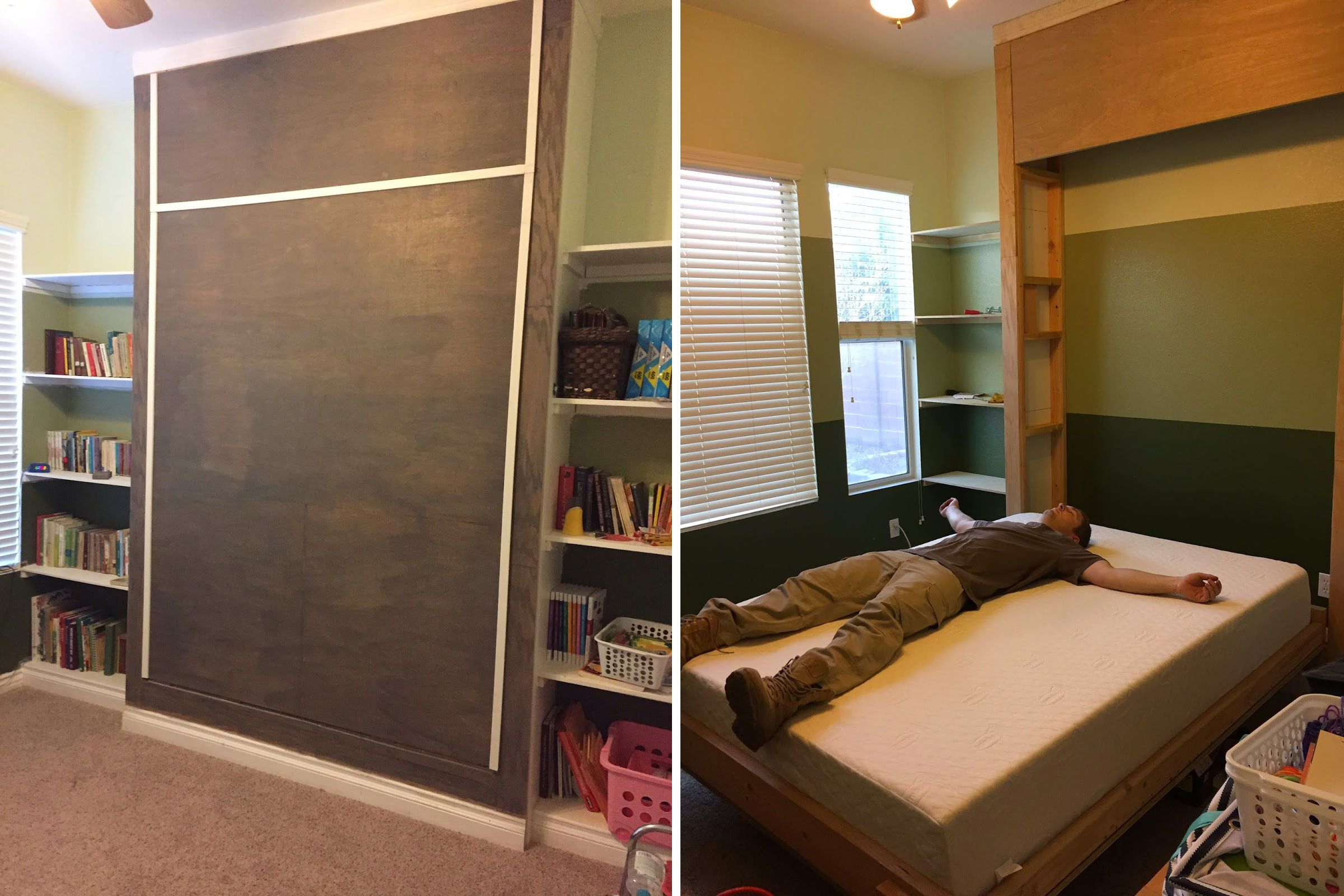 12 diy murphy bed projects for every budget amipublicfo Images