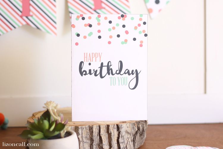 15 Free Printable Birthday Cards for Everyone – Free Printing Birthday Cards