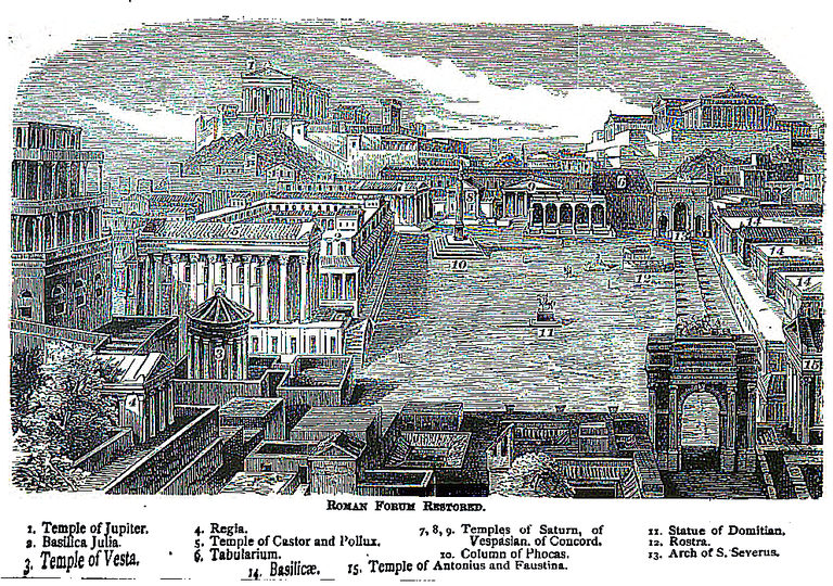 The Roman Forum Restored