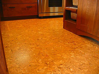 Cork Flooring in Kitchen
