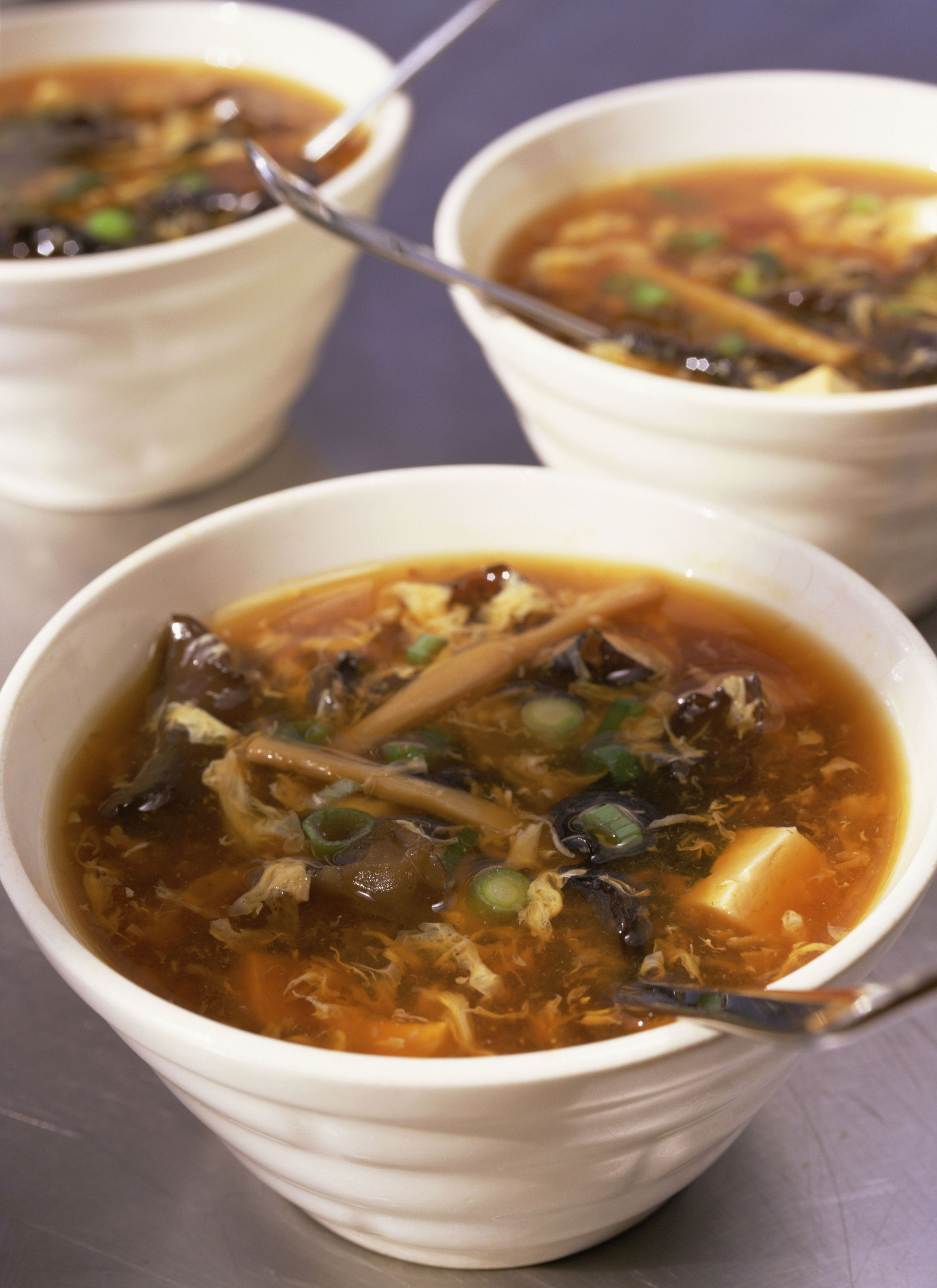 Chinese Vegetarian Hot And Sour Soup Recipe