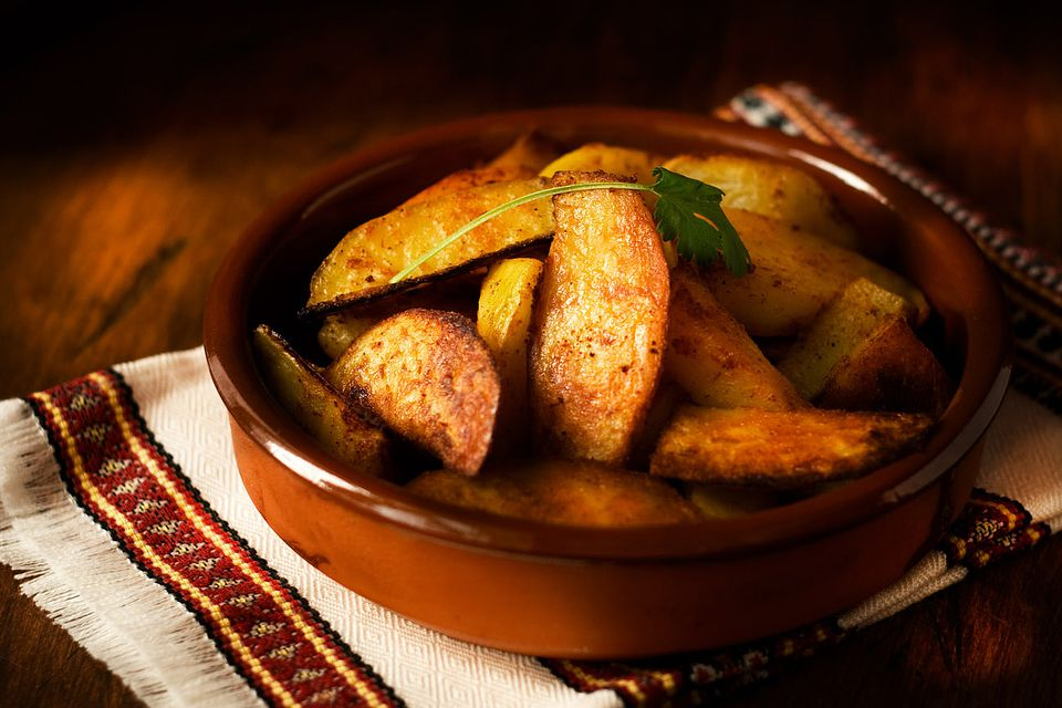 Spicie Roasted Potatoes