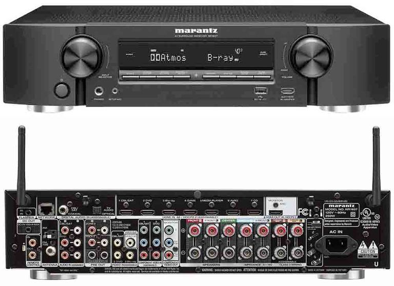 Marantz NR1607 Slim-Profile Home Theater Receiver