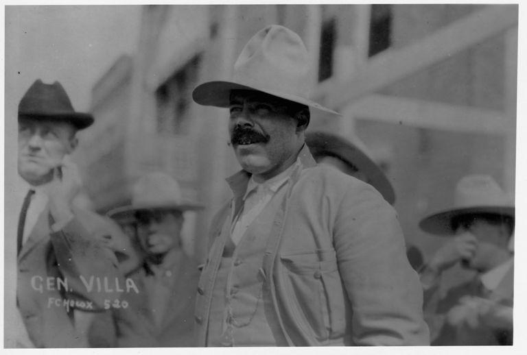 Mexican General Francisco 'Pancho' Villa