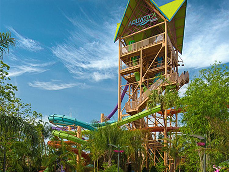 Aquatica at SeaWorld Orlando water park