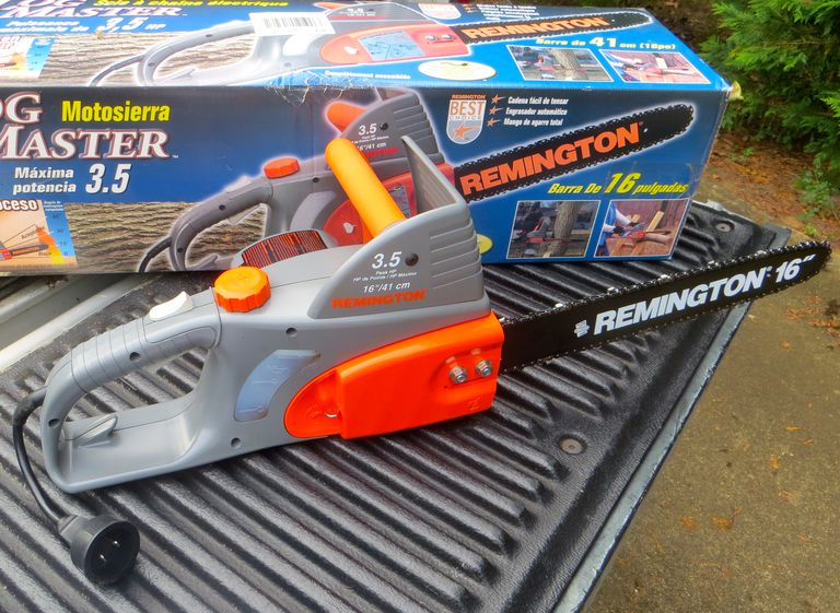 Consider this before purchasing an electric chainsaw unboxing the remington electric chainsaw greentooth Gallery