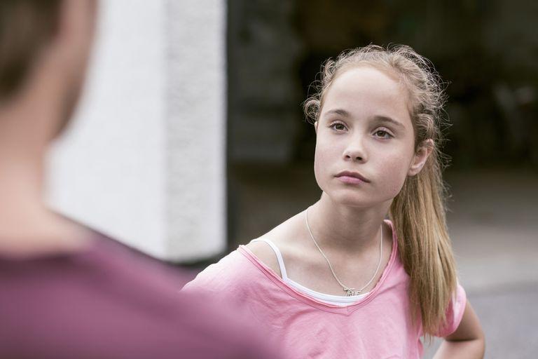 Angry teen