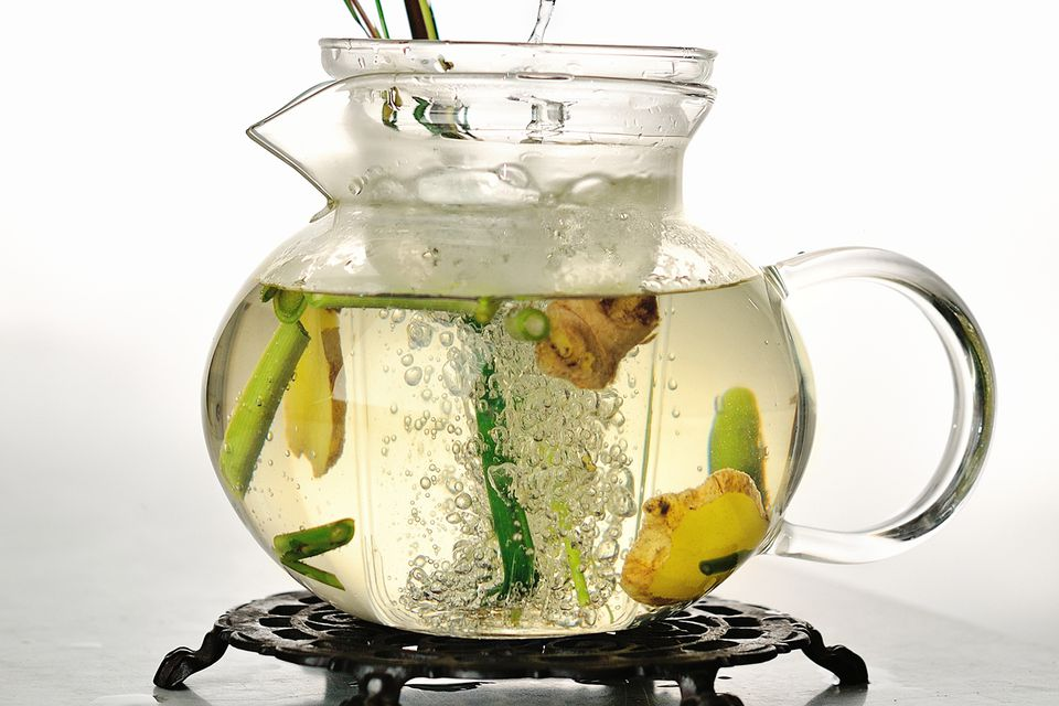 Lemongrass-Ginger Infused Tequila