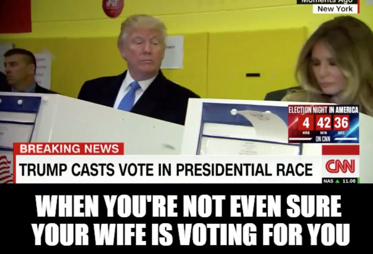 Funny Vote Trump Meme : Funny donald trump pictures and viral images