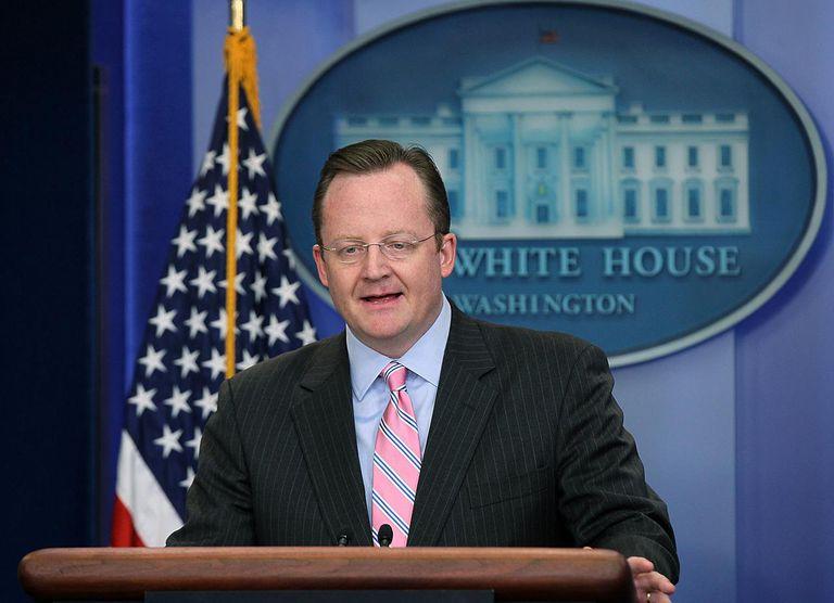 Press Secretary Robert Gibbs Gives White House Daily Briefing