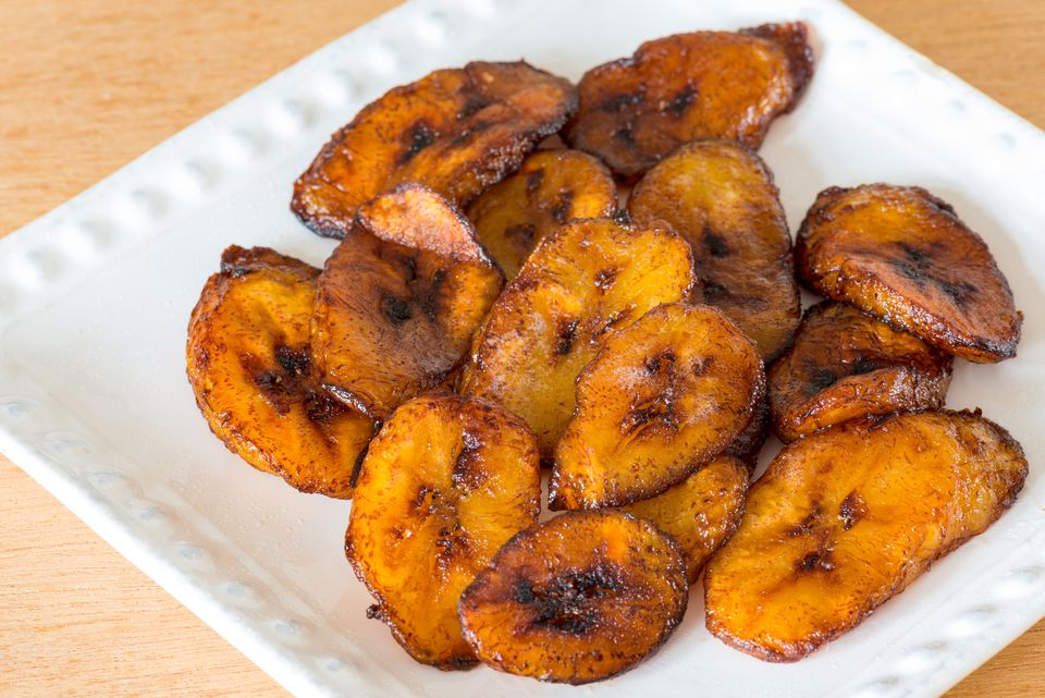 Cuban cuisine: Deep fried ripe plantains