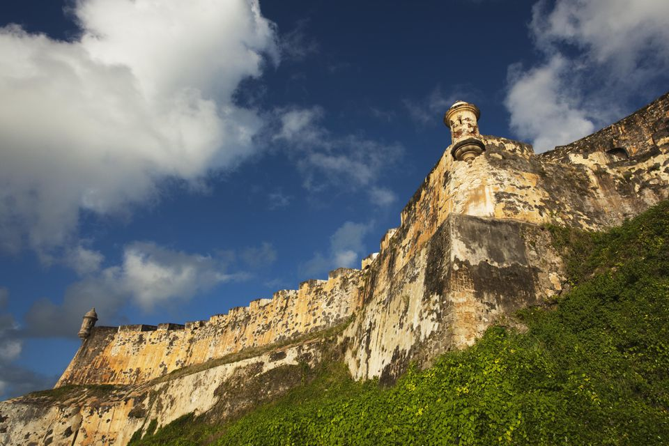 El Morro Fortress in Old San Juan