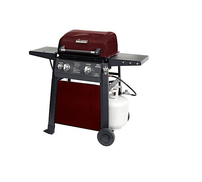 Brinkmann 2-Burner Red Model# 810-4220-S