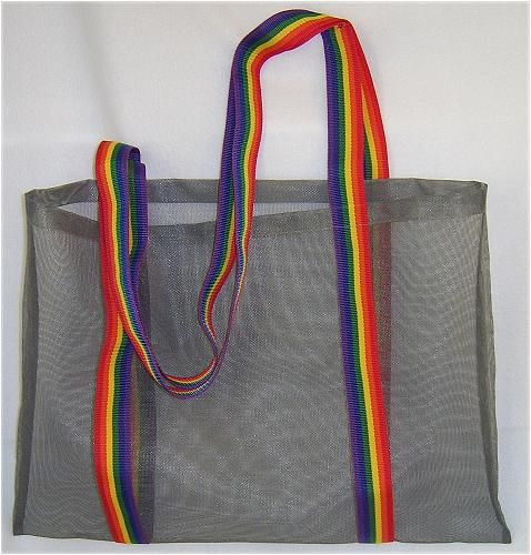 Free Pattern and Directions to Sew a Screen Beach Bag