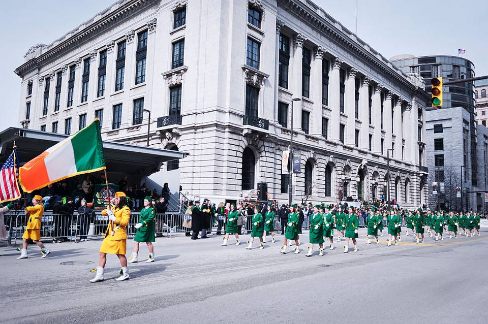 USA - St. Patrick's Day Parade in Cleveland
