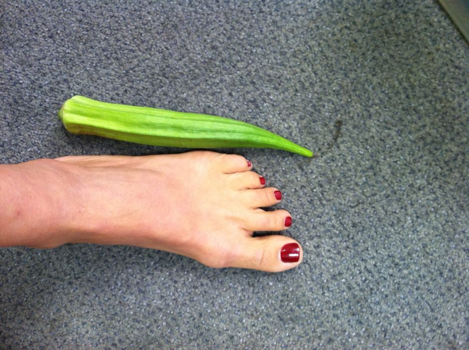 Foot-Long Okra