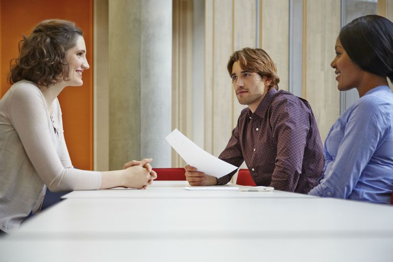 group interview for a job