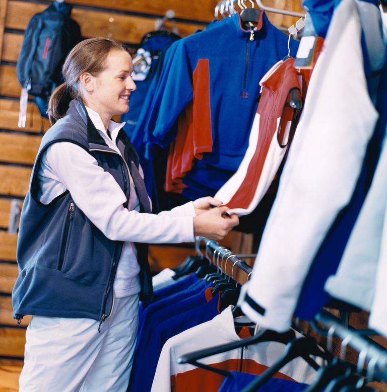 Ski clothing retail