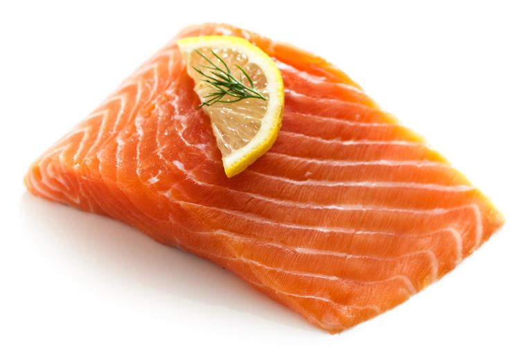 Salmon is high in asthaxanthin.