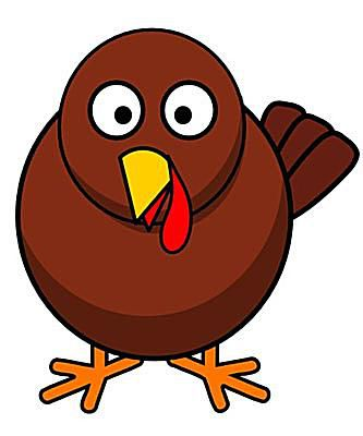 Turkey cartoon clip art
