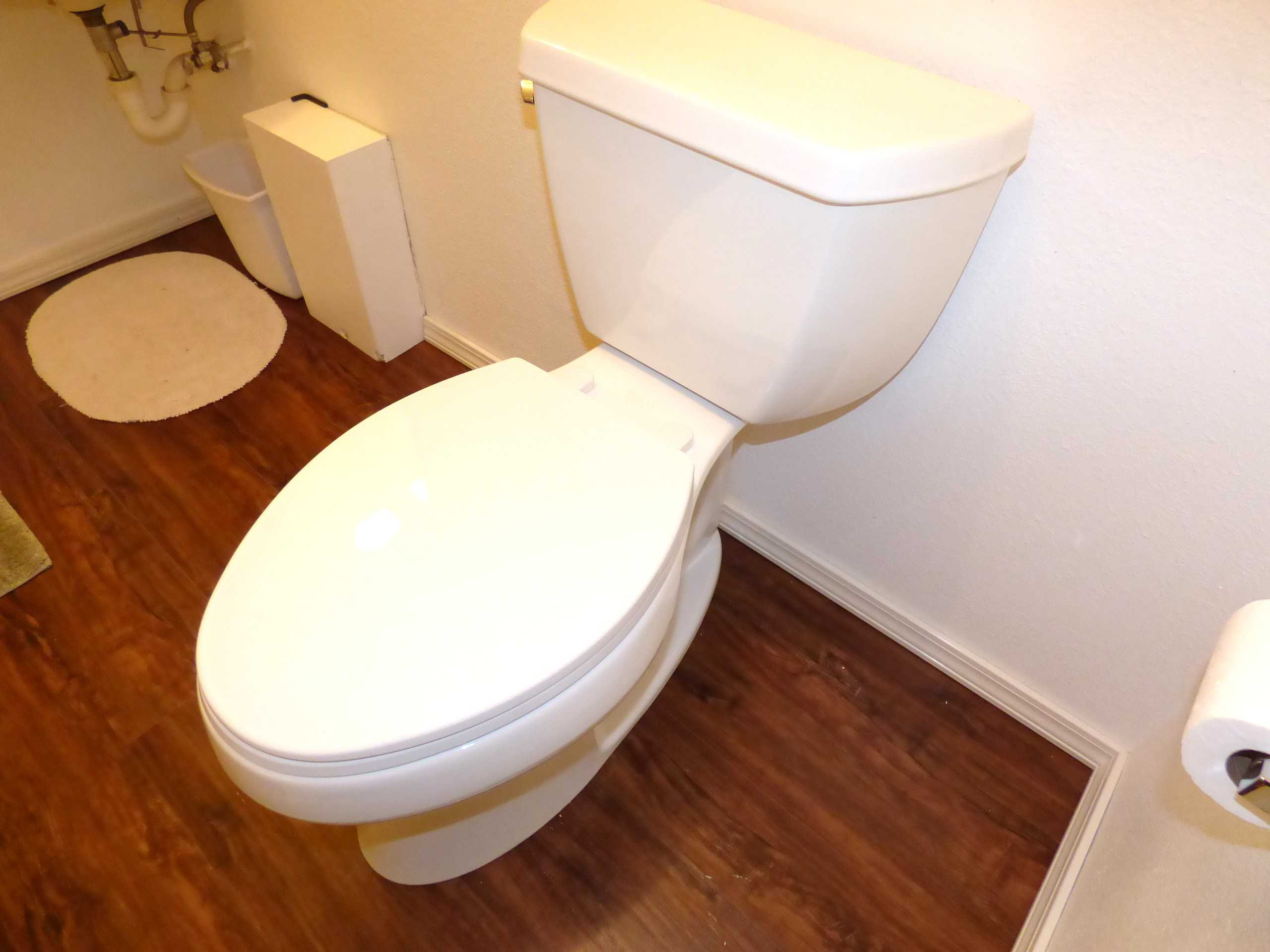 Making This Mass Market Toilet a Little Easier To Install