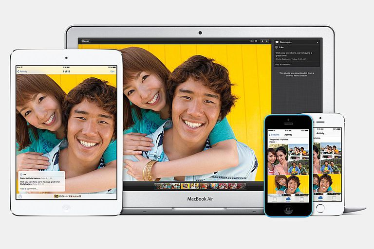 iCloud on various apple devices