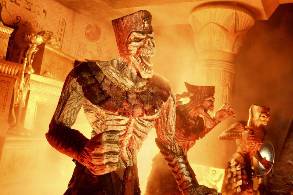Revenge of the Mummy Universal ride