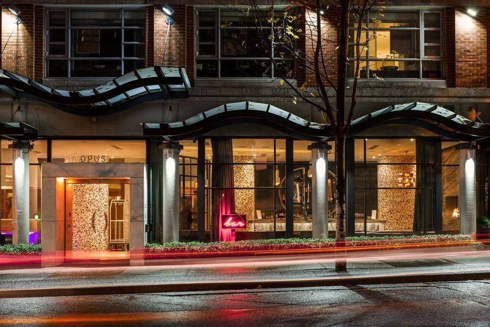Opus Hotel Vancouver Restaurant