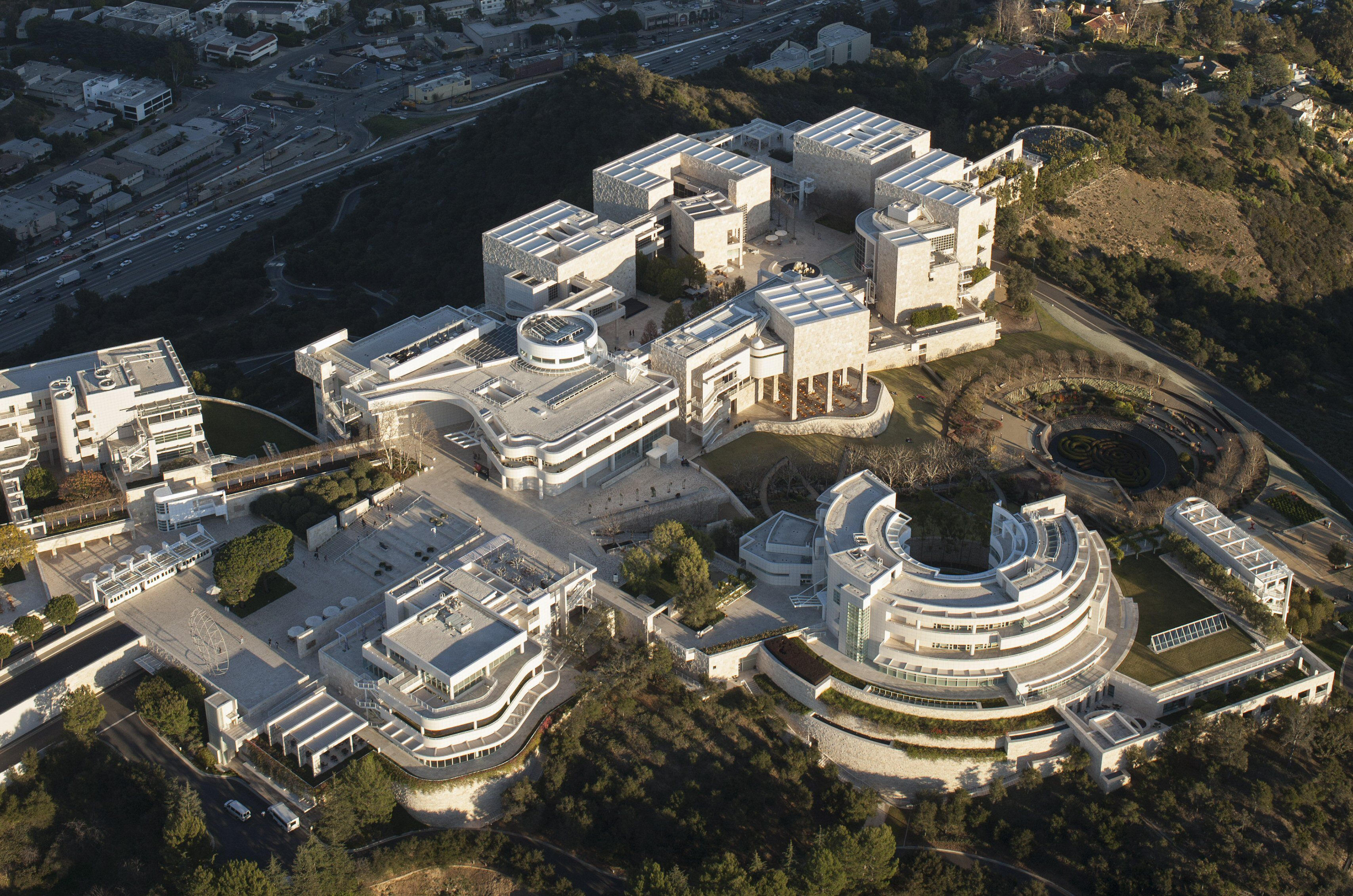 Residence Floor Plan What S So Special About The Getty Center