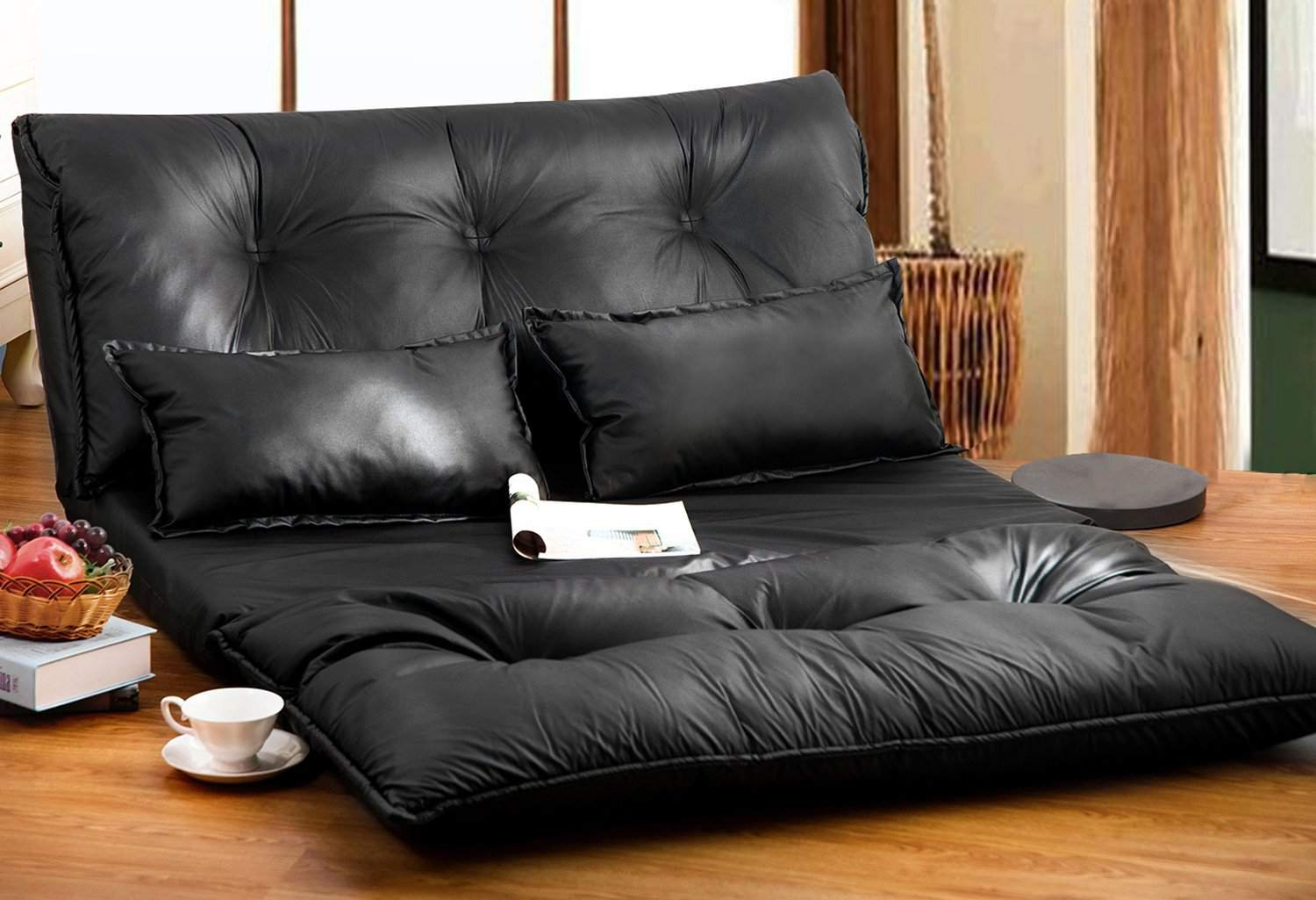 futon futons furniture decor bed ideas storage sofa home comfortable with
