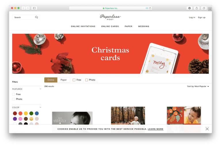 the best christmas ecard sites