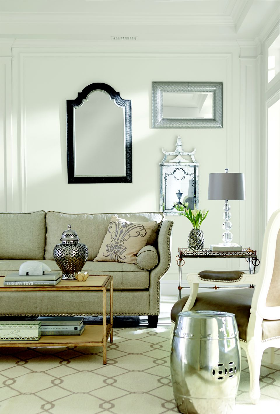 Sherwin Williams Living Room See Rooms Featuring Sherwinwilliams' Alabaster