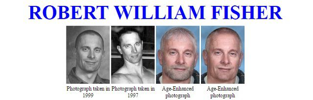 Robert William Fisher is wanted by the FBI