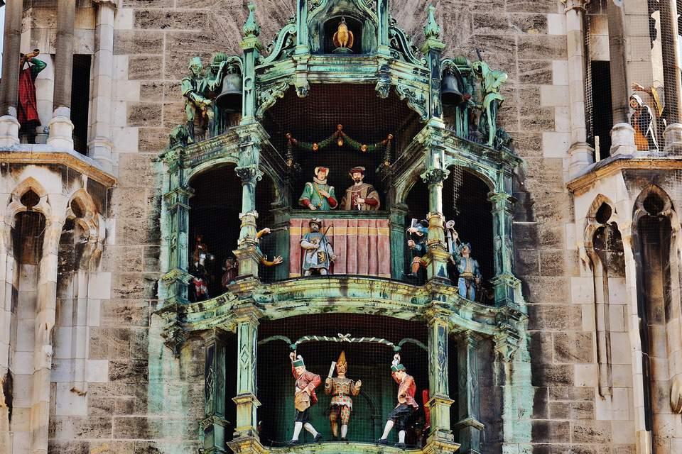 Marienplatz glockenspiel
