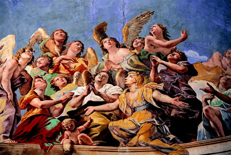 Painting of angels