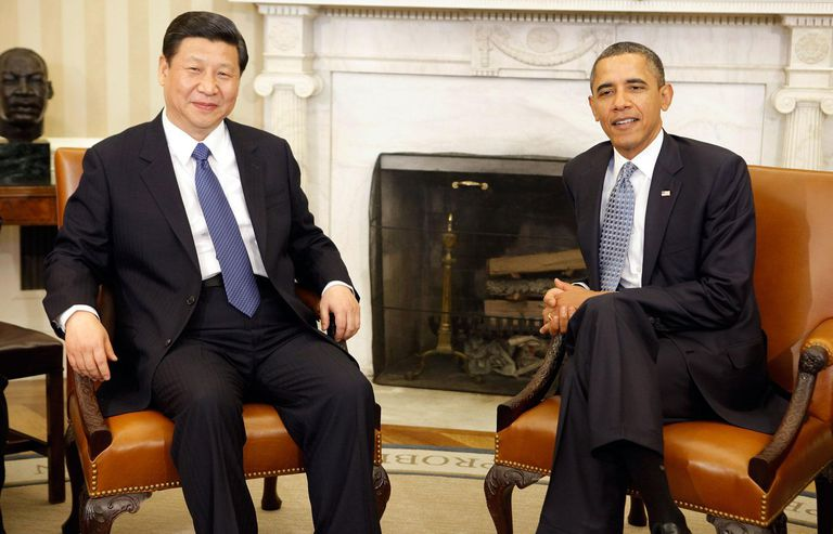 President Obama Meets With Chinese Vice President At The White House