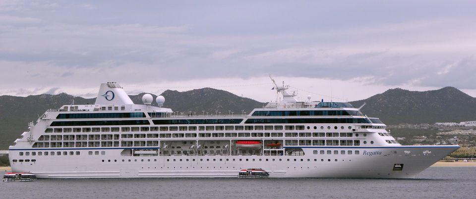 Oceania Regatta at Cabo San Lucas, Mexico