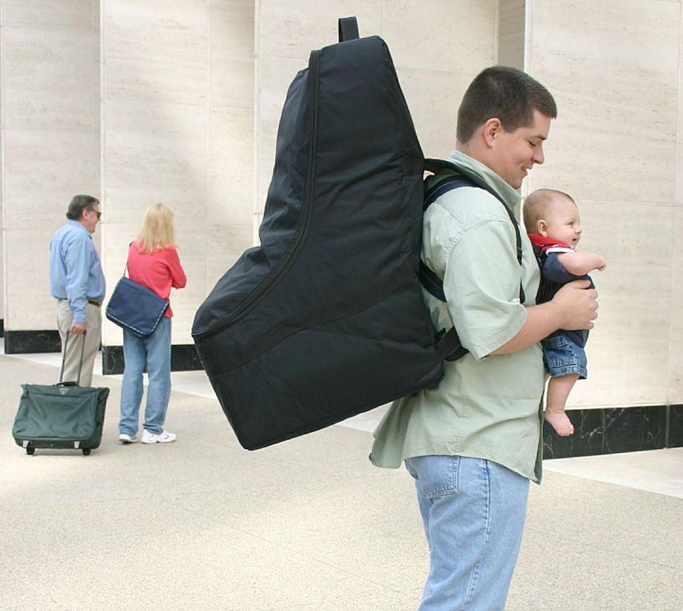 Can I Gate Check Car Seat Travel Bag