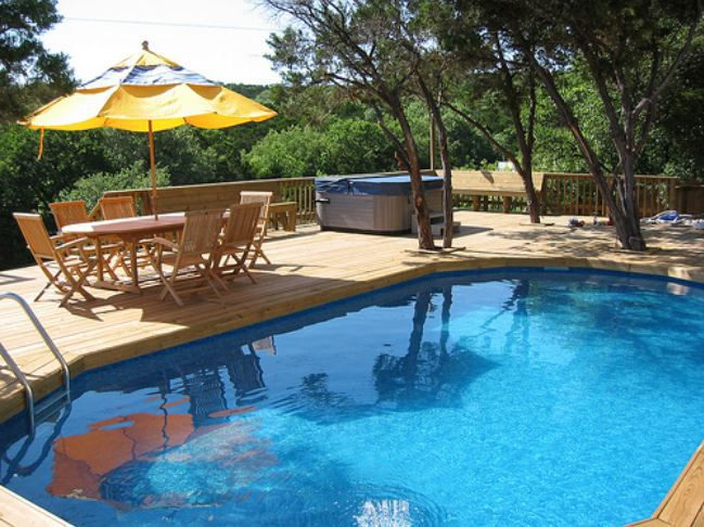 Above ground swimming pools designs shapes and sizes Swimming pool shapes and designs