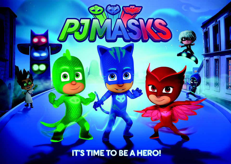 PJ Masks Television Show on Disney Junior