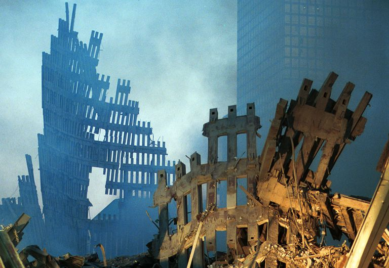 New York World Trade Center Wreckage