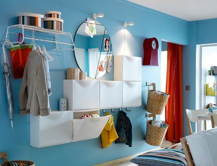 how to use ikea shoe cabinets to hack more storage small spaces - Design For Small Space