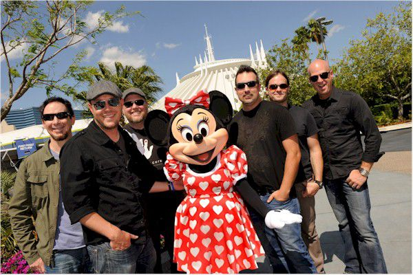 MercyMe with Minnie Mouse