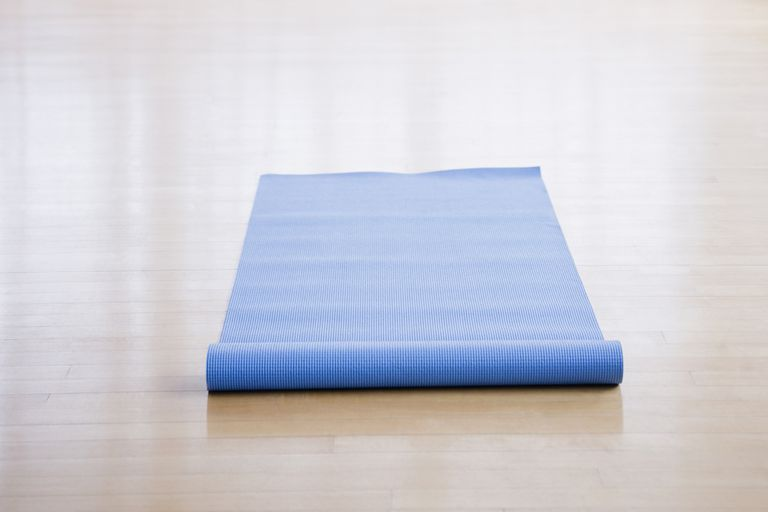 An exercise mat is all you need for this exercise.