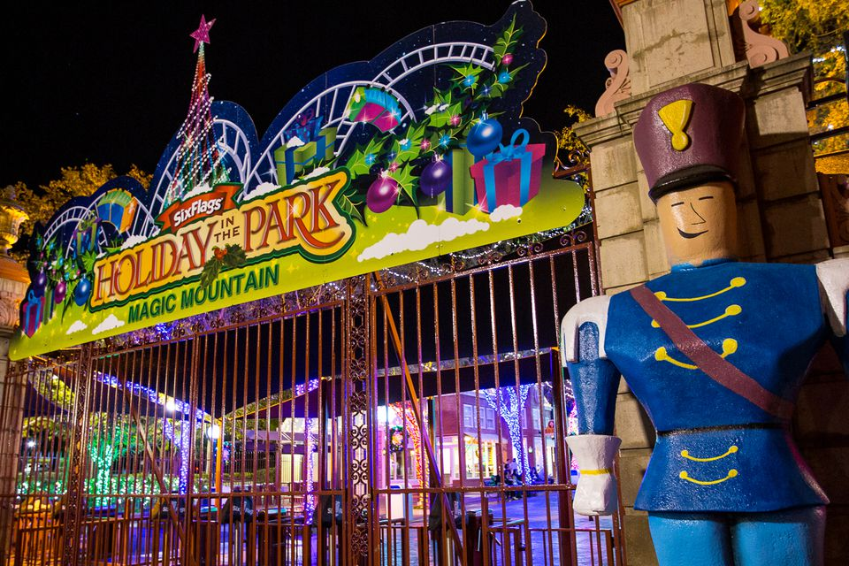 Holiday in the Park at Magic Mountain